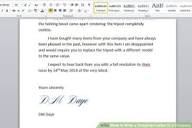 how to write a complaint letter to a company sample letters image titled write a complaint letter to a company step 6