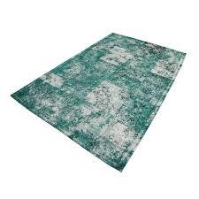 dark turquoise distressed rug cotton 60 96 tp1028 ea 10