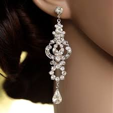 full size of lighting cute crystal chandelier earrings for wedding 1 winsome 2 rhinestone long bridal