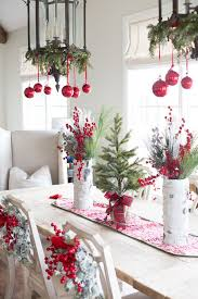 best 25 christmas dining rooms ideas
