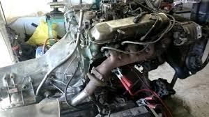 1977 Cadillac 7 litre v8 starts and revs - YouTube