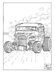 Small Picture Fancy Hot Rod Coloring Pages 15 In Coloring Site with Hot Rod