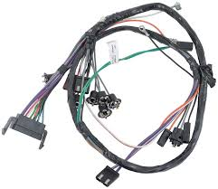 impala parts electrical and wiring wiring and connectors 1966 impala full size auto trans console gauges console wiring harness