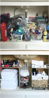 Under Kitchen Sink Organizing 17 Best Ideas About Under Sink Storage On Pinterest Bathroom