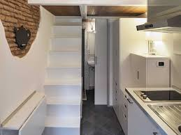 Small Picture Kitchen Bathroom Stairs Tiny House in Rome Home Inspiration