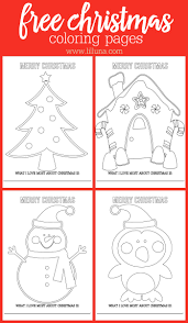 Free Christmas Coloring Pages Get The