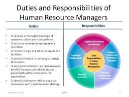 Human Resources Manager Duties Corporate Recruiter Job Descrip On ...