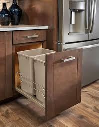 Designer Kitchen Waste Bins Kitchen Design Idea Hide Pull Out Trash Bins In Your Cabinetry