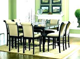 6 person round dining table size for 8