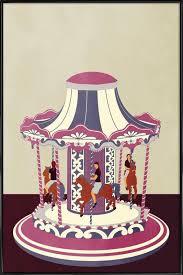 carousel poster in standard frame