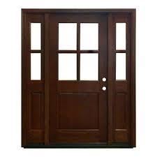 farmhouse style front doors60 x 80  Wood Doors  Front Doors  The Home Depot