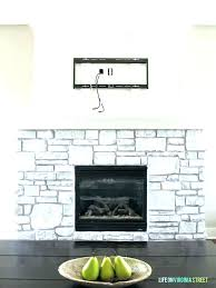 whitewash stone fireplace white stone fireplace wall painting stone fireplace ideas whitewash stone fireplace best white