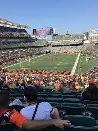 Paul Brown Stadium Section 151 Home Of Cincinnati Bengals
