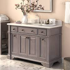 abel 48 inch rustic single sink bathroom vanity marble top for contemporary household bathroom vanities single sink prepare