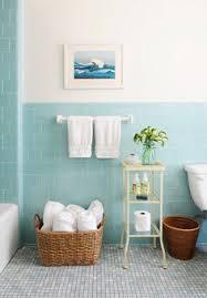 light blue bathroom tiles. Fine Bathroom Rue Magazine Pretty Bathroom With Aqua Blue Tiled Half Walls And Bath  Surround The In Light Blue Bathroom Tiles M