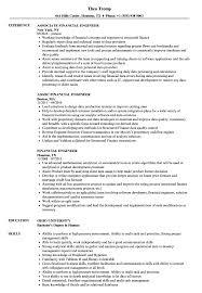 Financial Engineer Sample Resume Financial Engineer Resume Samples Velvet Jobs 1