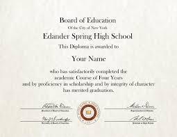 High School Deploma Fake High School Diploma 10 Diploma Outlet