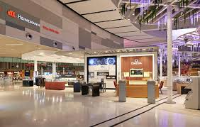 heinemann took over the duty free franchise at sydney airport s t1 international terminal in february 2016 and describes the reved departures zone as