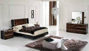 Modern Queen Bedroom Sets Venere Italian Modern Ebony Queen Bedroom Set