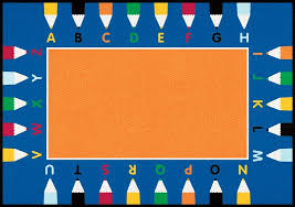 classroom rug clipart. pencils rectangle large classroom rug clipart g