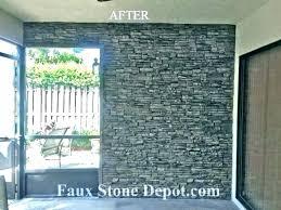 faux stone interior walls for wall tiles fake brick panel home depot panels pan