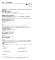 Employment Coordinator Resume Sample Quintessential Livecareer
