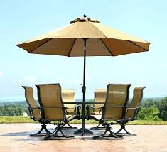 backyard umbrella small aluminum black patio on free standing umbrellas home depot table tables with