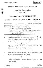 logic classical and symbolic social work philosophy logic classical and symbolic 2012 social work philosophy bachelor university exam