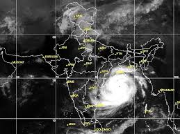 best weather forecast images weather forecast  satellite image of cyclone phailin approaching odisha