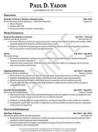Resume Best Business Resumes