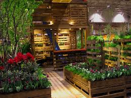 Small Picture Shipping Pallet Garden Wows Visitors at the Canada Blooms Garden