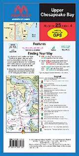 Upper Chesapeake Bay Chart Maptech Upper Chesapeake Bay Waterproof Chart