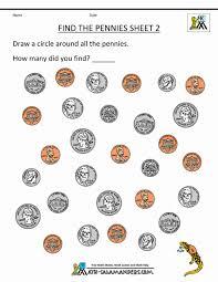 2nd Grade Money Worksheets Up To 2 Kindergarten Activities ...