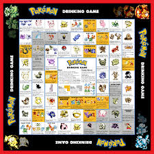 pokemon drinking game board 3 png