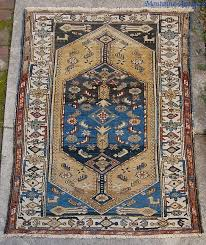 tribal rug 3 ft 5 inches by 5 foot 4 inches nice colors and