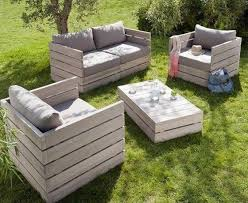 Garden Furniture Made From Pallets  Pallet IdeaPallet Furniture For Outdoors