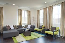 stunning lime green living room with green black living room