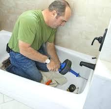 easy way to unclog a bathtub drain unclog how to unclog bathtub drain with standing water