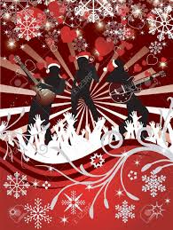 Christmas Concert Poster Abstract Christmas Concert Poster Royalty Free Cliparts Vectors