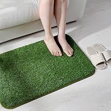 ukeler indoor outdoor artificial grass doormat grass entrance rug artificial grass turf carpet rug welcome door mat synthetic lawn turf carpet for entrance