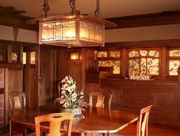 craftsman lighting dining room. greene and gamble house pasadena 1908 craftsmandiningroom craftsman lighting dining room r