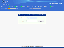 Use the default username and admin password for globe zte zxhn h108n to manage your router/modem with full access rights. Globe Zte Zxhn H108n Default Admin Password And Username Teking Pinoy