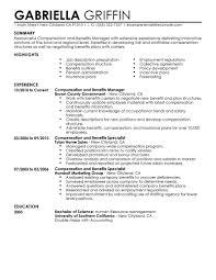 30 Benefits Specialist Resume Sample Hr Specialist Resume Samples
