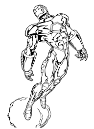 Marvel superheroes coloring pages for Kids | Projects to Try ...