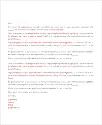 Thank You Letter For Donations Enchanting 48 Thank You Letter Example Templates Free Premium Templates