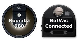 Botvac Comparison Chart Roomba 980 Vs Neato Botvac Connected The Two Best Vacuum Robots