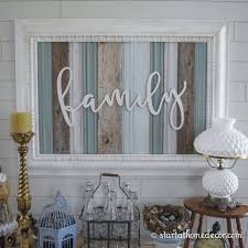 family sign framed in wood on white wood cutout wall art with add cozyness with rustic wall art ideas homesthetics inspiring