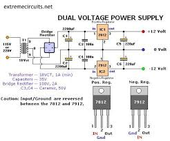 dual adjustable power supply electronics lab dual voltage power supply
