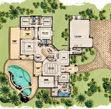 mediterranean house plans. Coastal Contemporary Florida Mediterranean House Plan 71500 Level One Plans