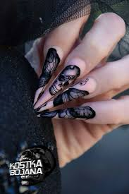 188 best Nails images on Pinterest | Nail designs, Goth nails and ...